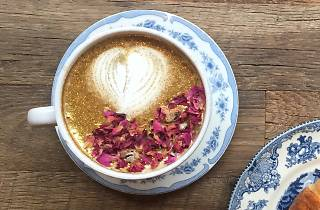 Maman rose gold latte