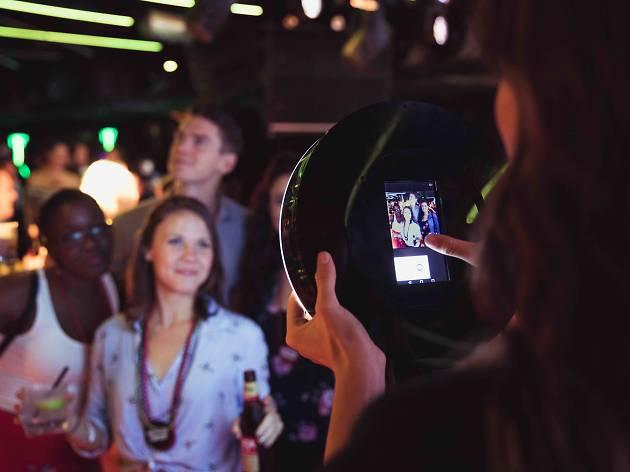 Meet Mobsta the roaming photobooth