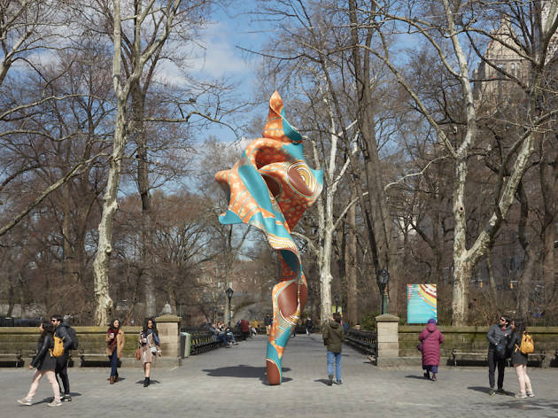 See Yinka Shonibare's colorful new Wind Sculpture in Central Park