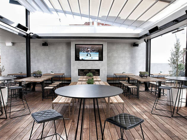 The Railway Hotel Yarraville rooftop