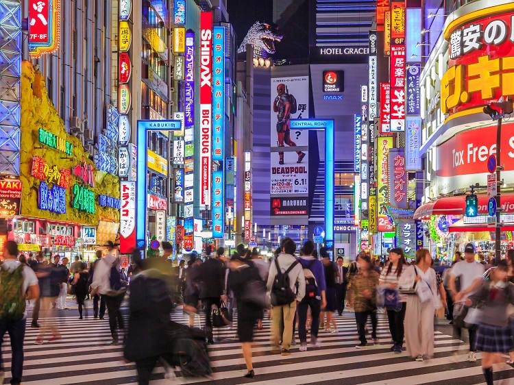 東京、24時間美味しい店