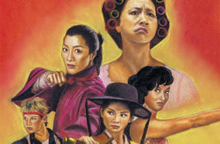 Women in Martial Arts. Illustration: Stanley Chung