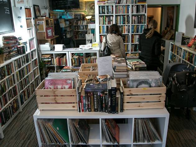 Leaf and Groove bookshop
