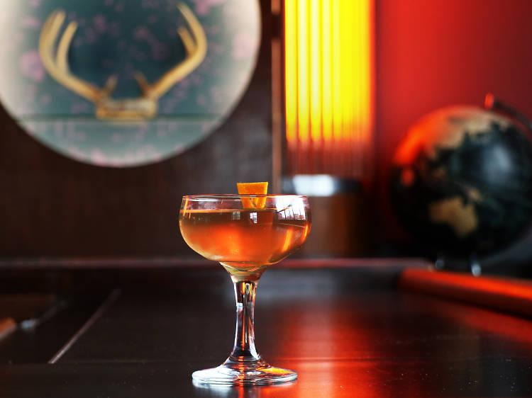 Summit cocktail at Ludlow Liquors