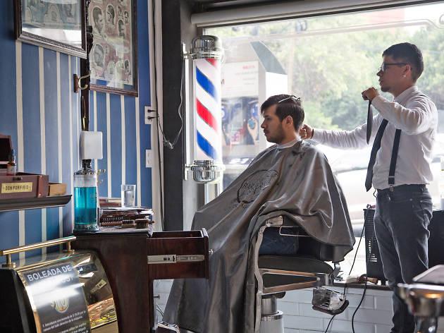 Barberías en Narvarte, De Valle y Nápoles