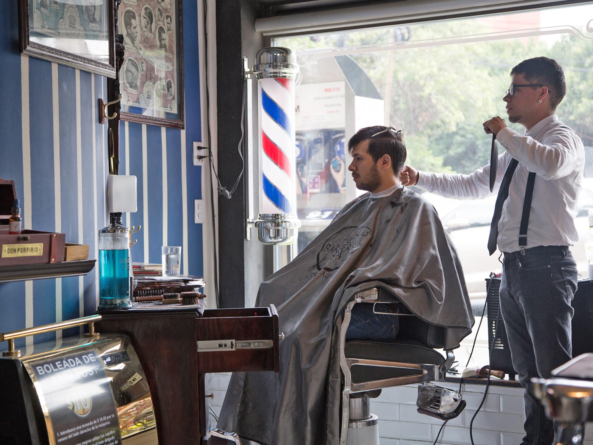 Barberías en Narvarte, Del Valle y Nápoles