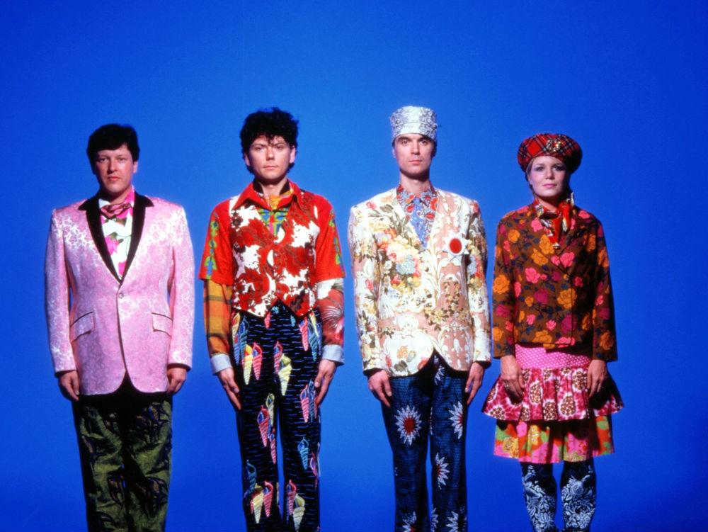 Talking Heads, la banda de David Byrne