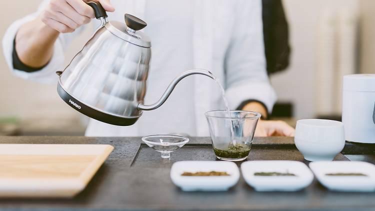 Green Gingko Tea, 上林茶舍