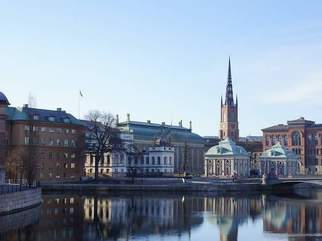 The most beautiful buildings in Stockholm