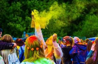 Holi, la fête des couleurs revient au Jardin d'acclimatation
