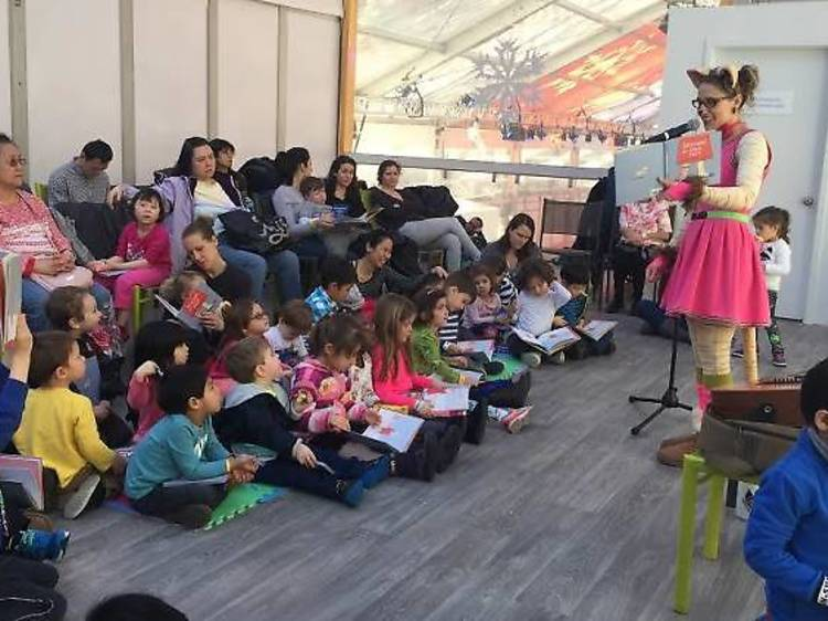 Storytimes for kids in NYC