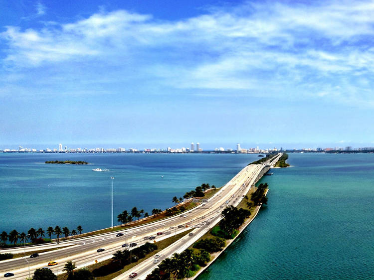 The best scenic drives in Miami