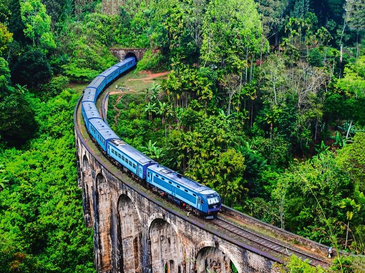 The most scenic train journeys in Asia