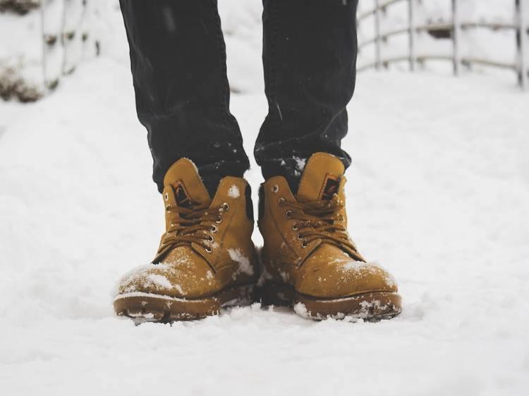Pack your toughest boots