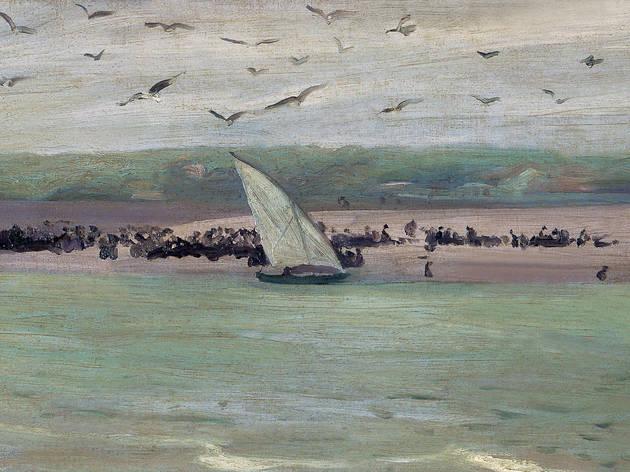 Gaivotas à chegada da Sardinha 1911