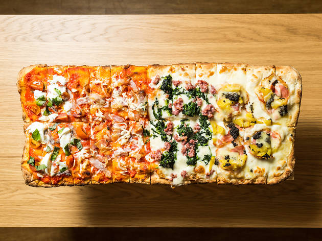 sora lella, pizza mezzo metro, pizza romana