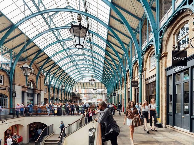 Covent Garden Market Shopping In Covent Garden London