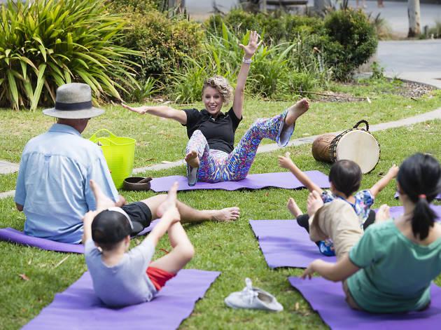 Darling Quarter Kids' Yoga