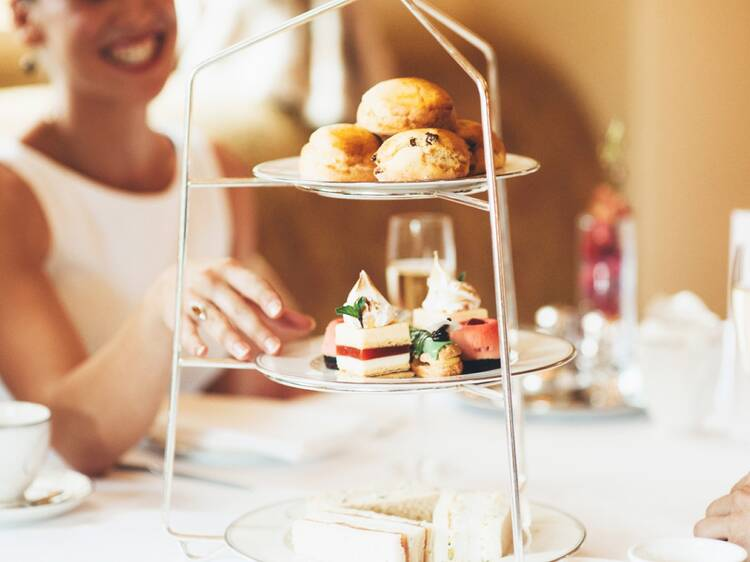 Have a fancy high tea at the Windsor