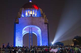 Gira de Documentales Ambulante, Monumento a la Revolución