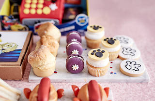 Mickey Mouse high tea at the Langham Melbourne