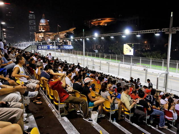 Rev up for F1's first night race in the heart of the city