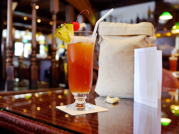 Sip on the world-famous Singapore Sling