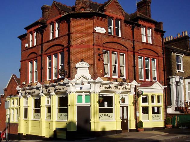 irish pubs in london, skehan's