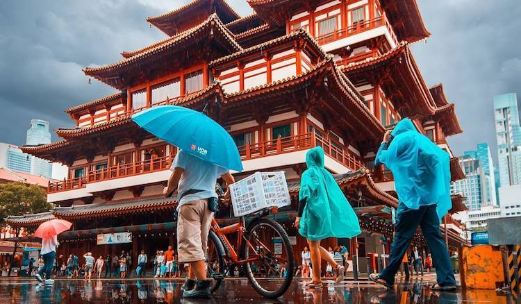 Buddha Tooth Relic Temple and Museum by Marvin Ramirez