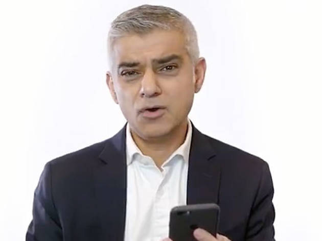 Watch: Sadiq Khan reads out abuse from his Twitter trolls