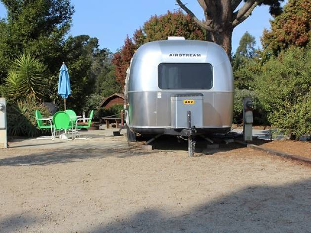 Airstreams at Koa