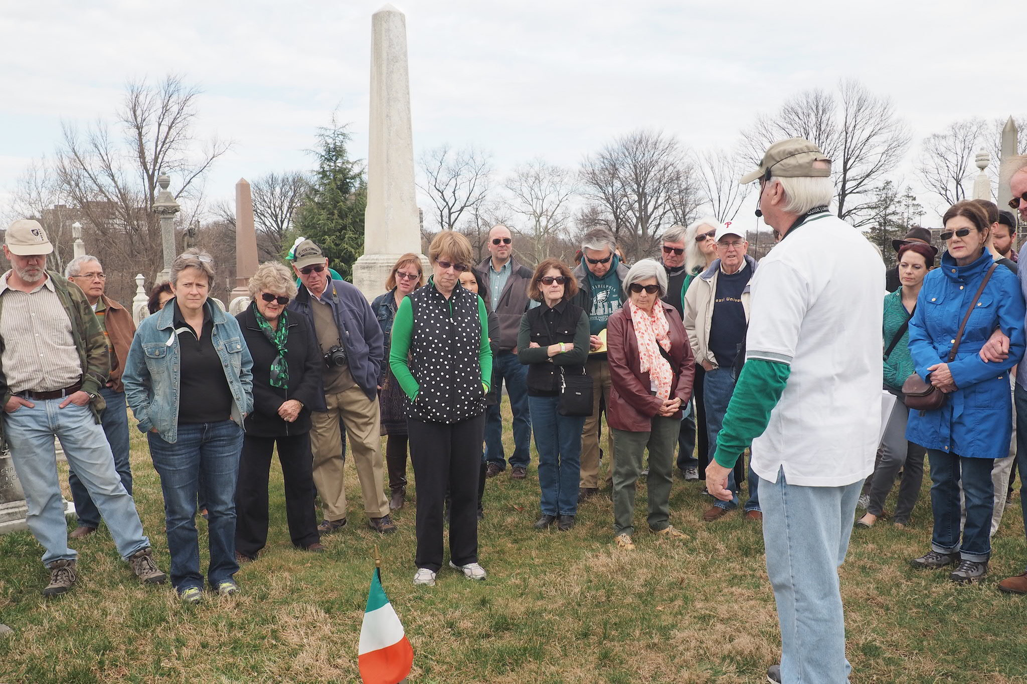 Laurel Hill Cemetery St. Patrick's Day event