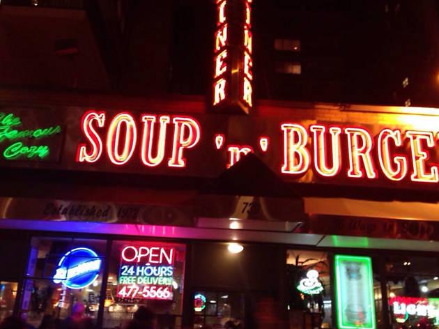 Cozy Soup 'n' Burger