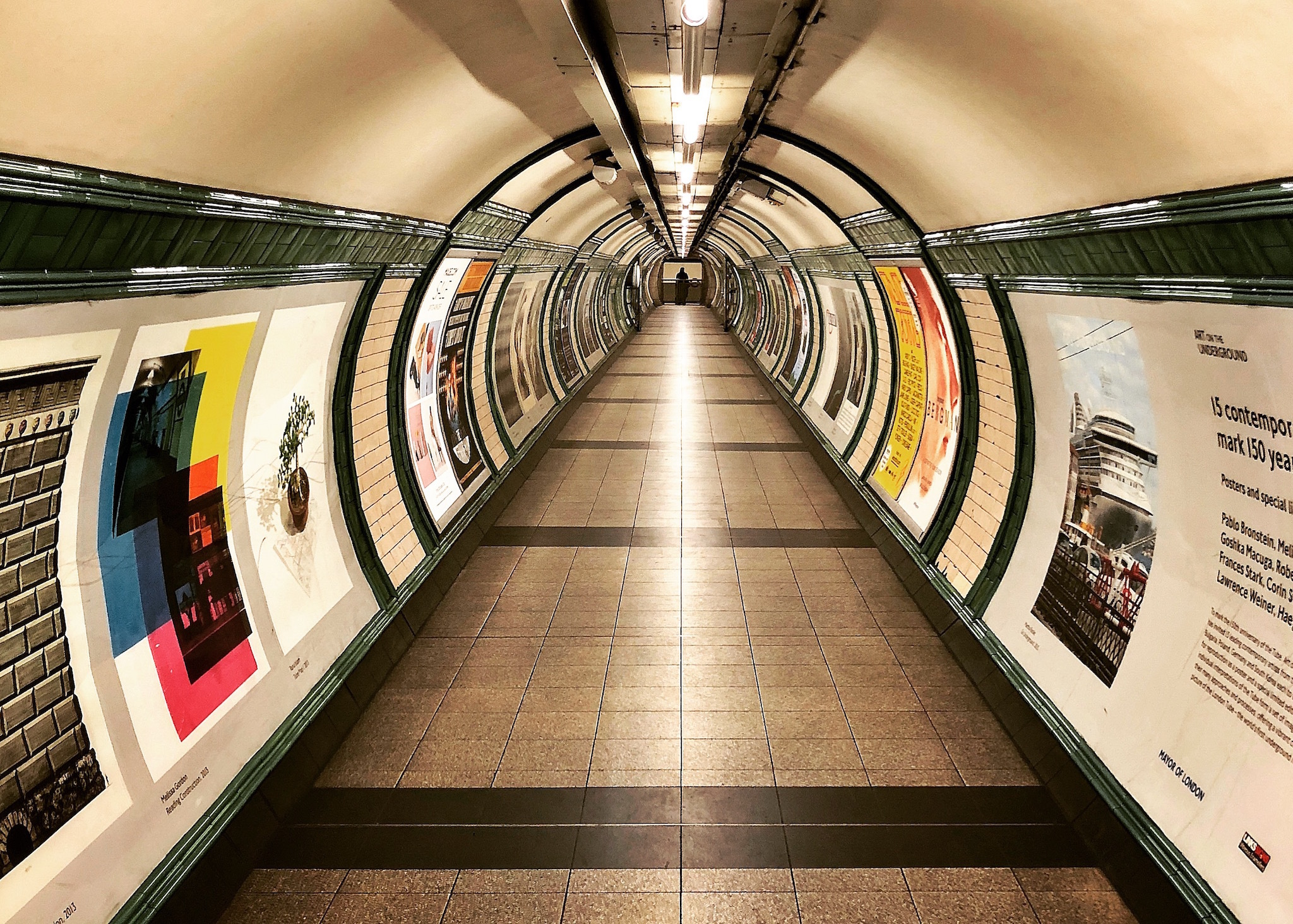 Embankment tube, Quiet London feature, TfL Night Owls campaign, tube