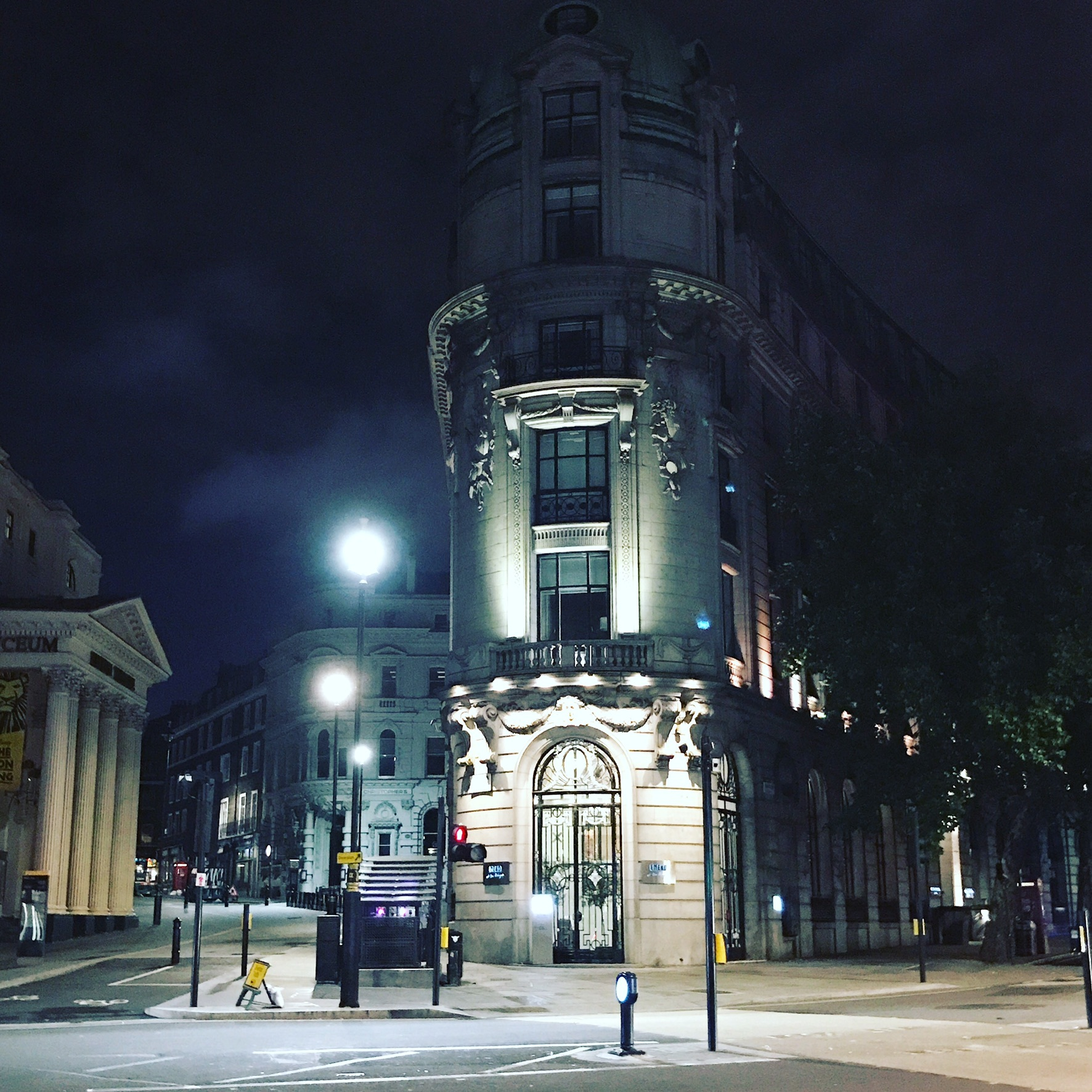 Quiet London, TfL, night owls, Lyceum, One Aldwych, Strand