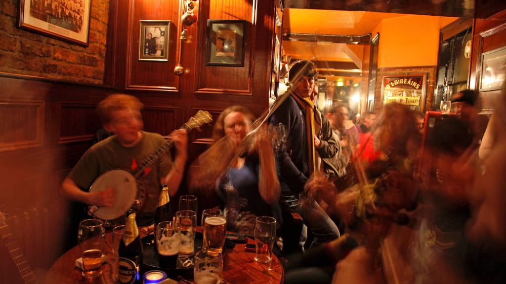 auld shillelagh, london's best irish pubs