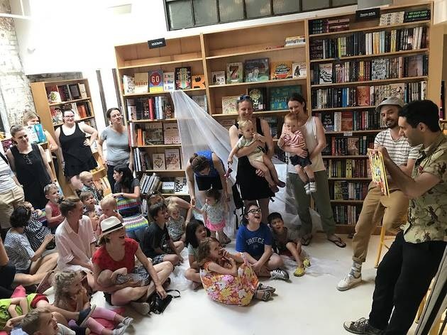 Storytime at Books Are Magic