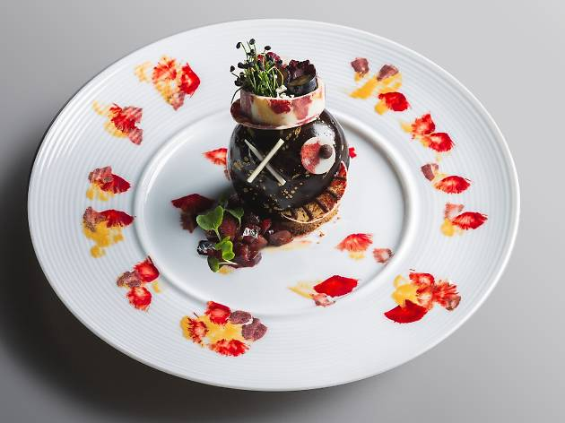 The best art-inspired menus and cocktails