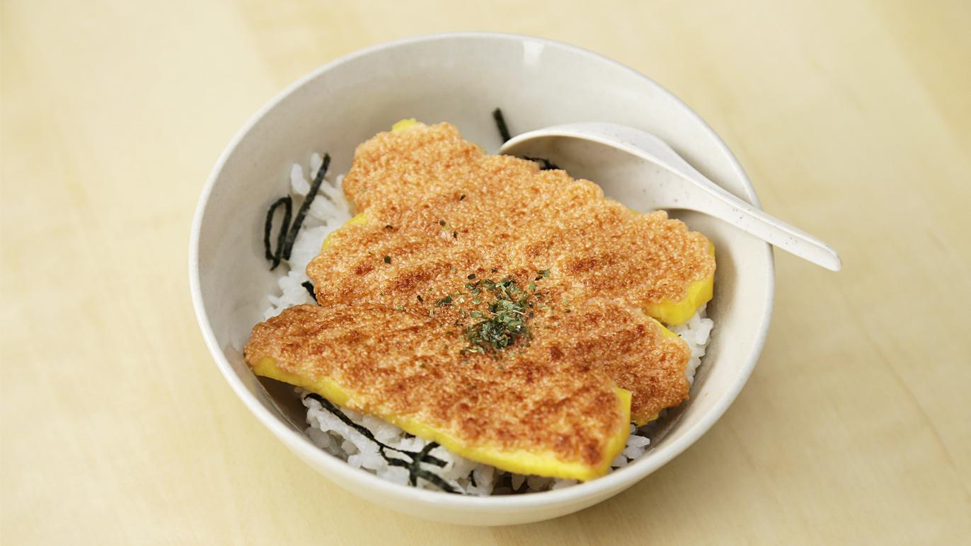 Uokatsu mentai rice