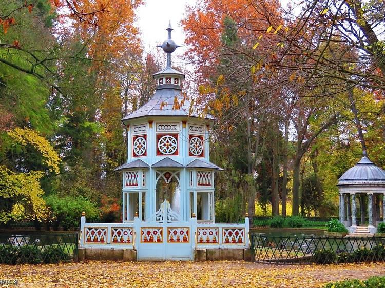 Localiza el templete chino que hay en Aranjuez