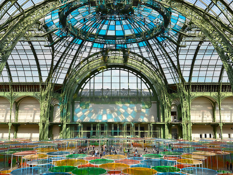 Take in top-tier exhibitions at the Grand Palais