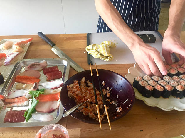 Simple, Healthy, Tasty At-Home Sushi at FoodStory