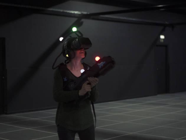 Teste a pontaria num jogo virtual