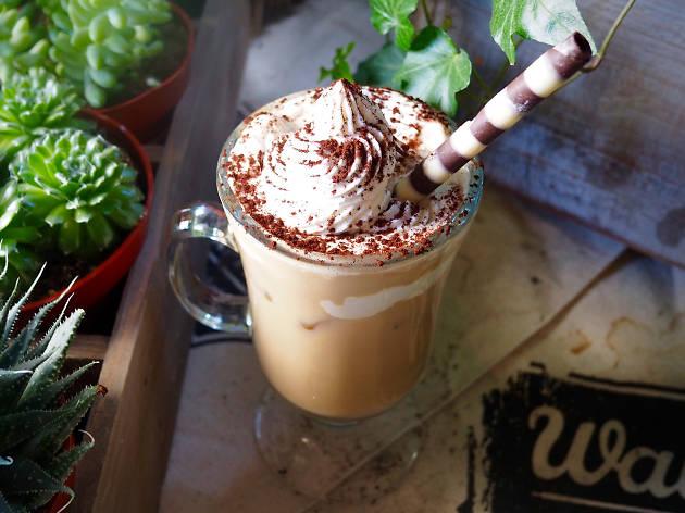 Get cozy with an Irish coffee