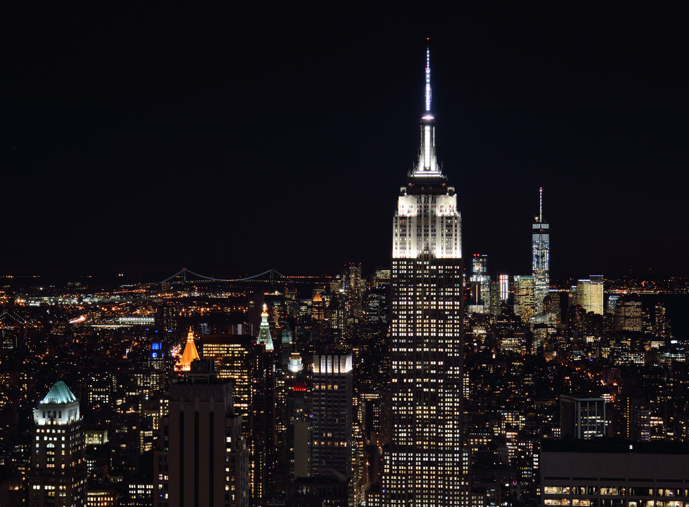 The Empire State Building now has a flashy nightly light show