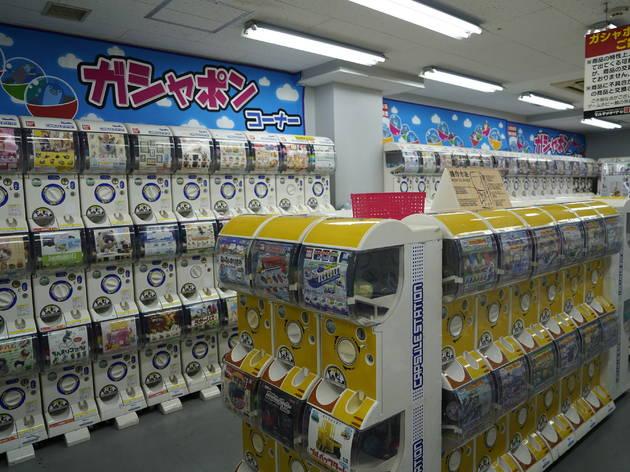 ヨドバシカメラ新宿西口本店 ガシャポン館