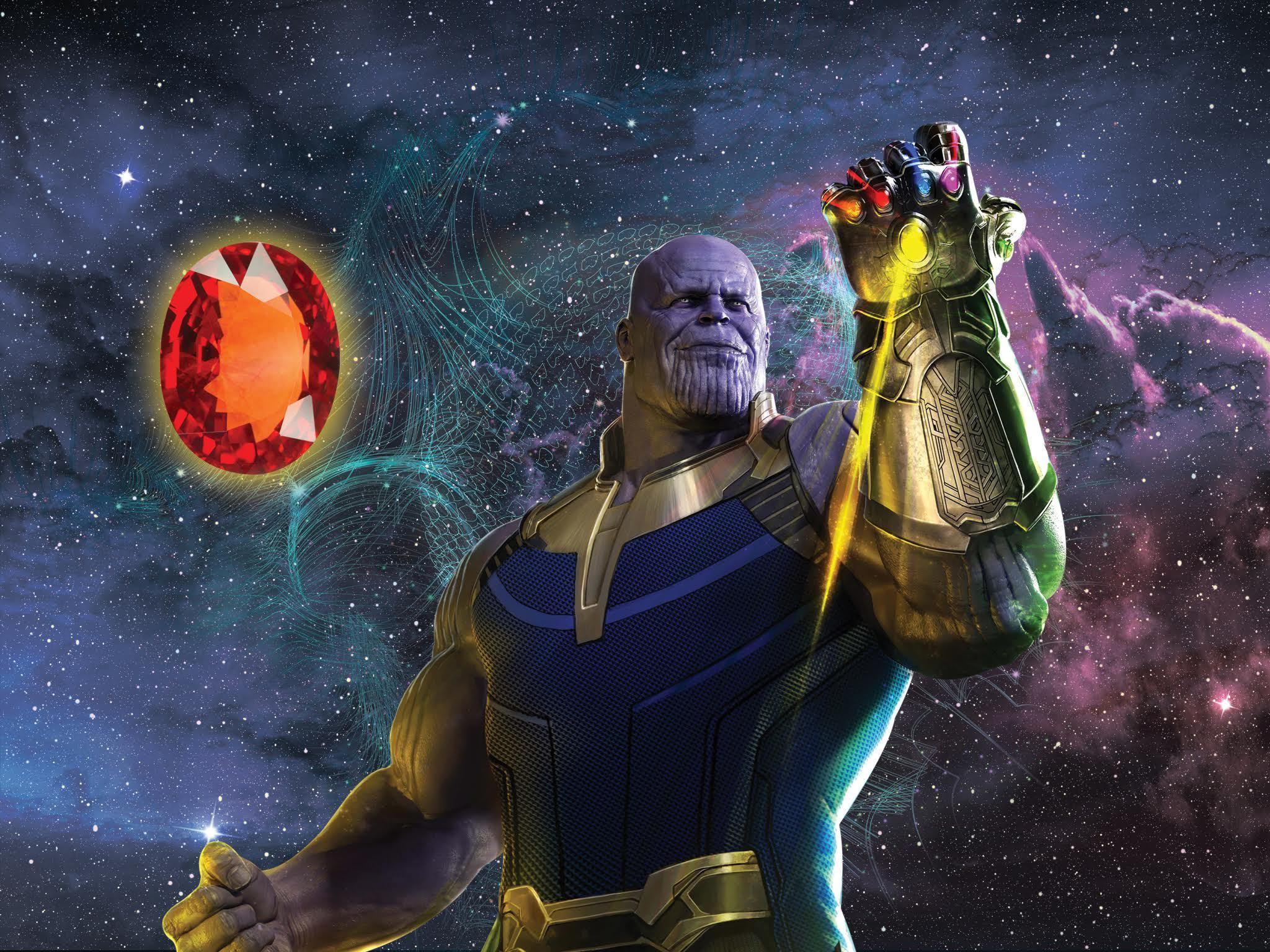 Thanos y las gemas del infinito