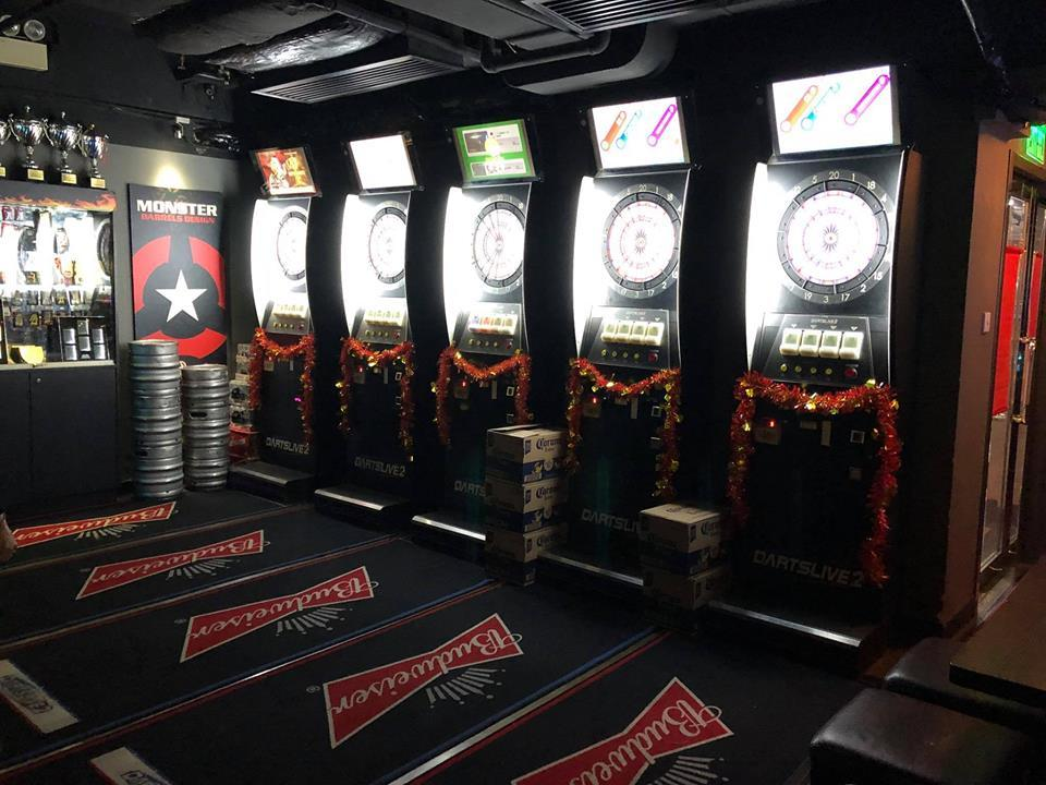 The best darts bars in Hong Kong