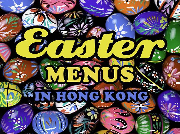 Easter menu hero image