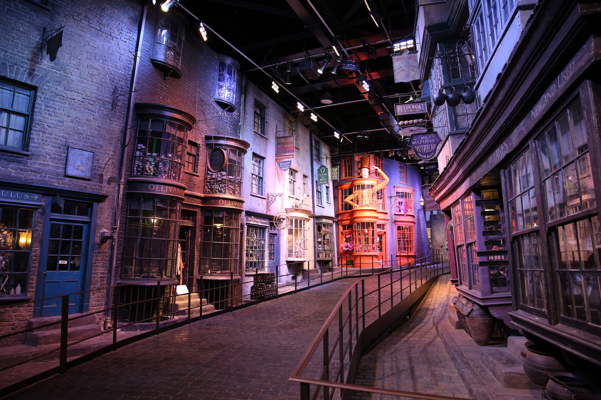 DO NOT REUSE Diagon Alley, Warner Bros. Studio Tour London, as part of Creative Solutions campaign